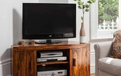 Wooden Corner Tv Stands
