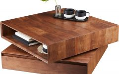 Spin Rotating Coffee Tables