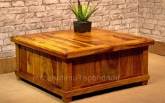 Square Chest Coffee Tables