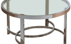 Strata Chrome Glass Coffee Tables