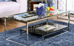 Strick & Bolton Florence Chrome Coffee Tables