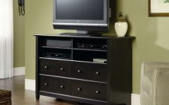 Tall Black Tv Cabinets