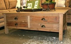 Wooden Storage Coffee Tables