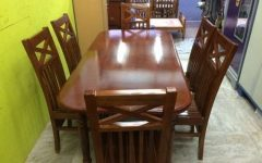 6 Seat Dining Table Sets