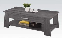 Gray Wood Coffee Tables