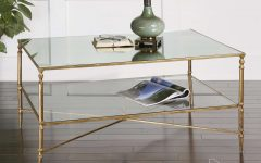 Mirror Glass Coffee Table