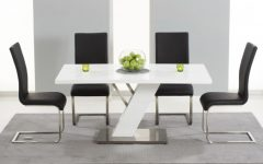 High Gloss Dining Tables Sets