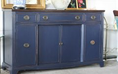 Blue Buffet Sideboards