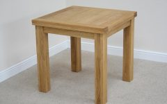 Flip Top Oak Dining Tables