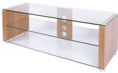 Glass and Oak Tv Stands