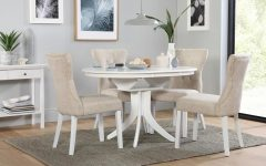 Round White Dining Tables