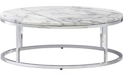 Smart Round Marble Top Coffee Tables