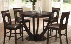 Valencia 5 Piece Counter Sets With Counterstool