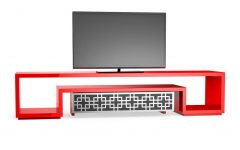 Red Tv Cabinets