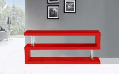 Red Gloss Tv Cabinets