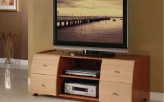 Maple Wood Tv Stands