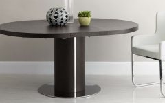 Black Circular Dining Tables