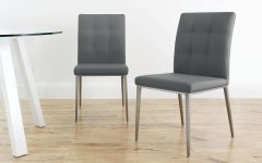 Moda Grey Side Chairs