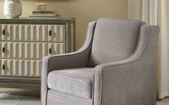 Vineland Polyester Swivel Armchairs