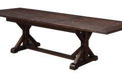 Warnock Butterfly Leaf Trestle Dining Tables