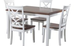 Lassen 5 Piece Round Dining Sets