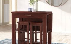 Crownover 3 Piece Bar Table Sets