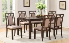 Parquet 7 Piece Dining Sets