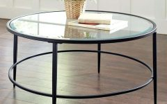 Glass Circular Coffee Tables