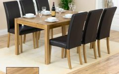 Oak Dining Tables with 6 Chairs