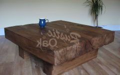Rustic Oak Coffee Tables