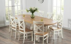 Cream and Wood Dining Tables