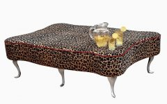 Leopard Ottoman Coffee Tables