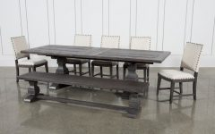Norwood 6 Piece Rectangle Extension Dining Sets