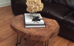 Sliced Trunk Coffee Tables