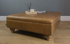 Mill Large Leather Coffee Tables