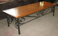 Wrought Iron Coffee Tables