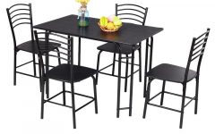 Ephraim 5 Piece Dining Sets