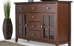 Solid Wood Contemporary Sideboards Buffets